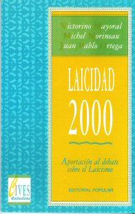 Portada de Laicidad 2000.